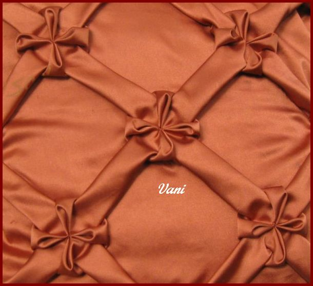 Vani's Blog 40 Tutorial For Mesh With Flowers Gorgeous How To Stitch Pillow Cover In Hindi