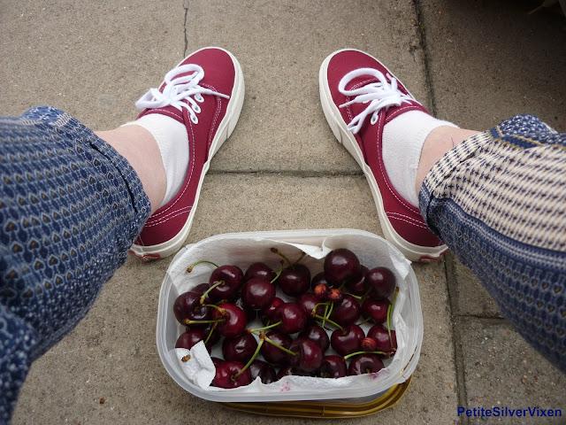 Vans and Cherries | PetiteSilverVixen