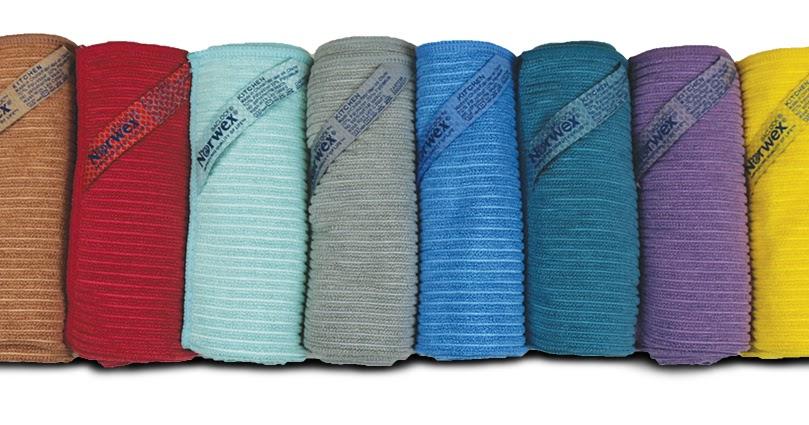 Norwex Kitchen Cloth Colors