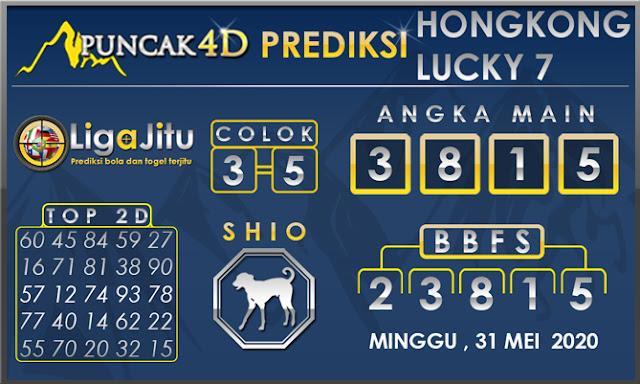 PREDIKSI TOGEL HONGKONG LUCKY 7 PUNCAK4D 31 MEI 2020