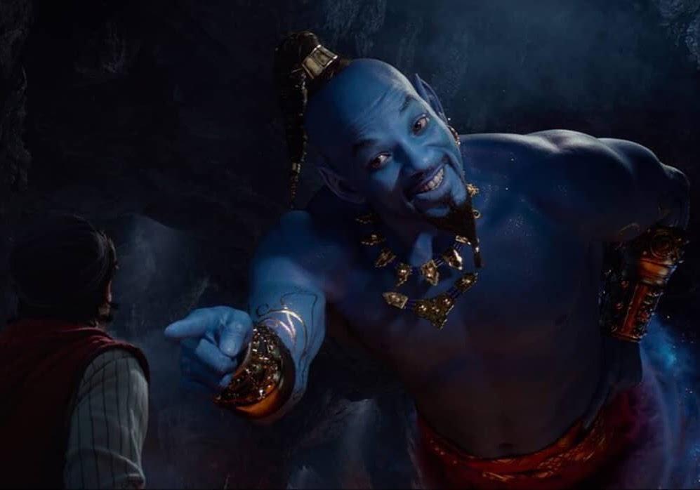 Aladdin   Finalmente o Gênio azul!