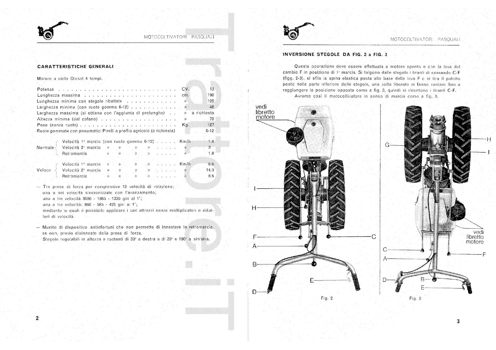 InfoTrattore.it: Motocoltivatore Pasquali 913 CV 13