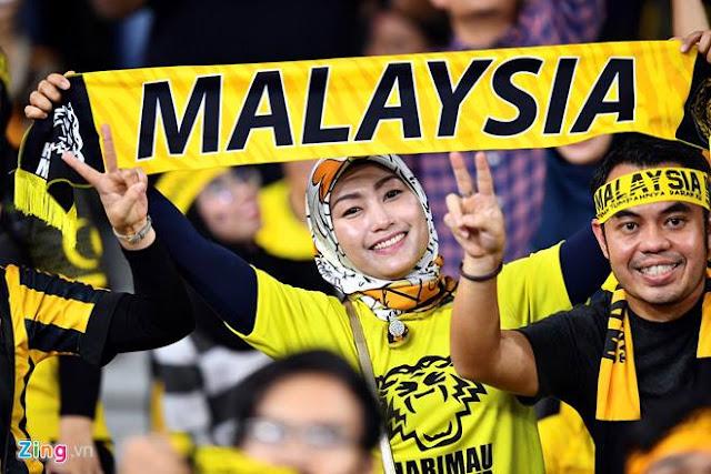 cổ động viên Malaysia