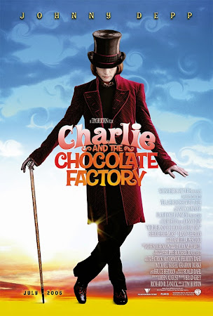Poster Of Charlie and the Chocolate Factory 2005 In Hindi Bluray 720P Free Download