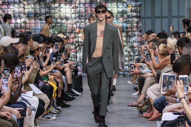 CMMN SWDN Spring-Summer 2019 - Paris Fashion Week - Male ...