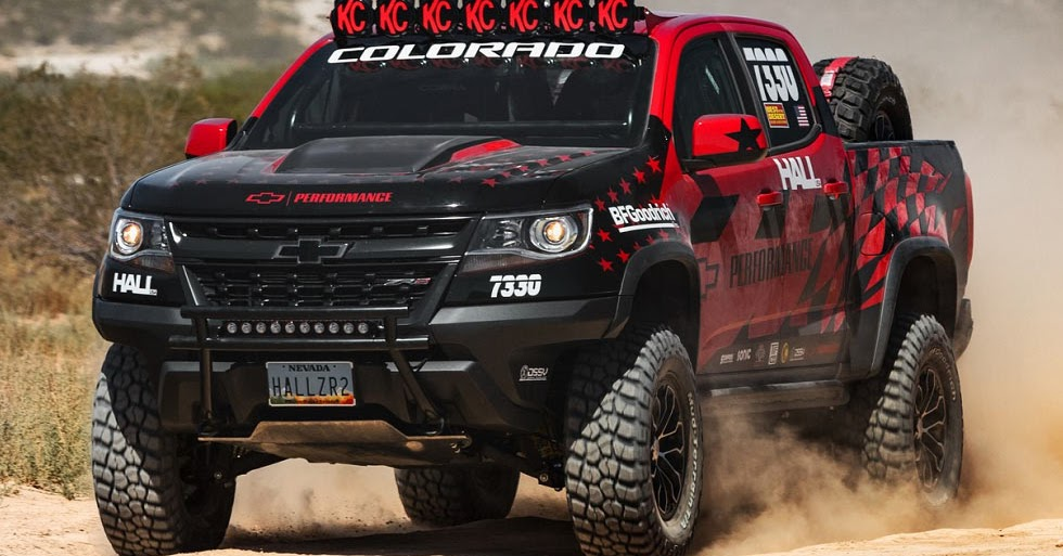 Chevrolet Colorado Zr2 To Compete In The Vegas To Reno Off