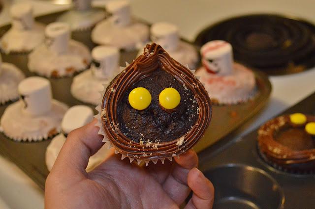 star wars cupcakes jawa