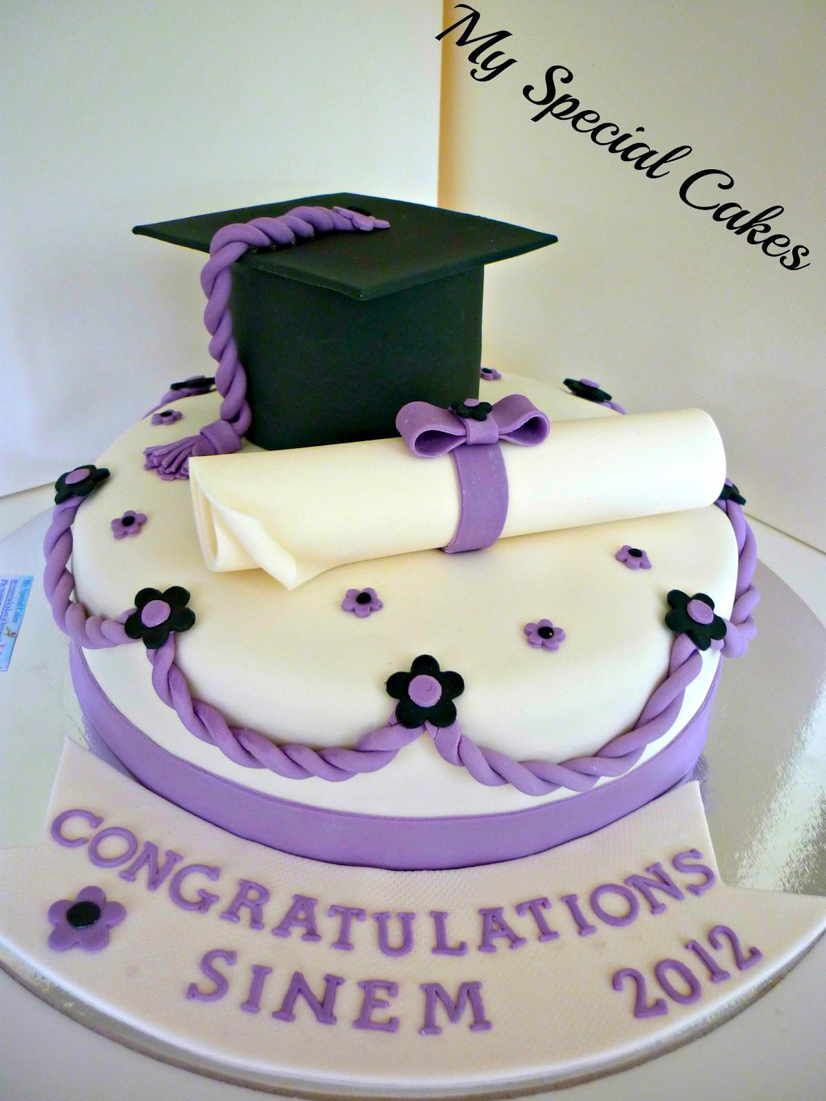 My Special Cakes Graduation Cake