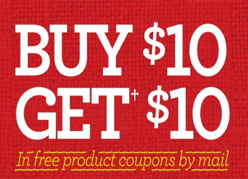Quaker Buy $10 in Products & Get $10 Free Product Coupons