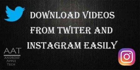 Download Twitter Instagram Video on PC