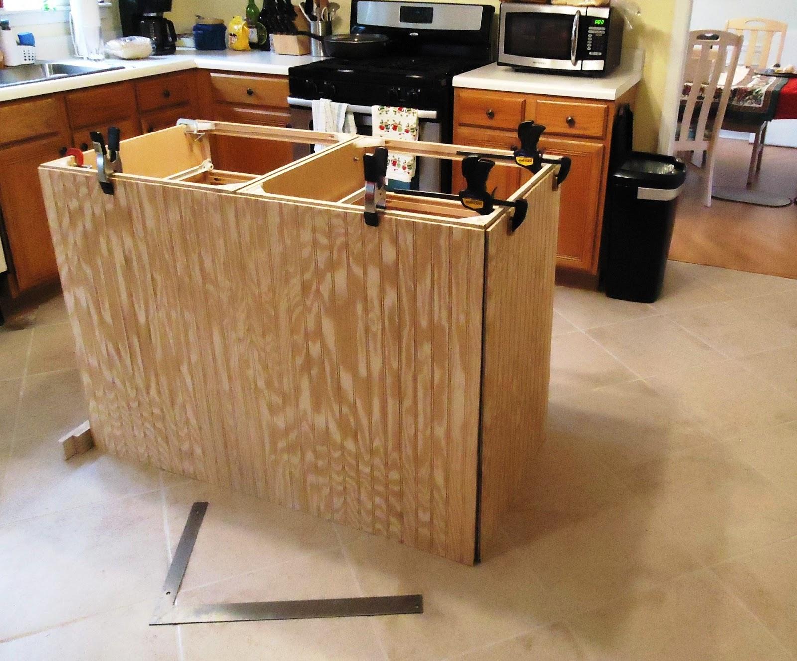 Build Kitchen Island Base