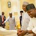 Buhari meets Dogara, Saraki