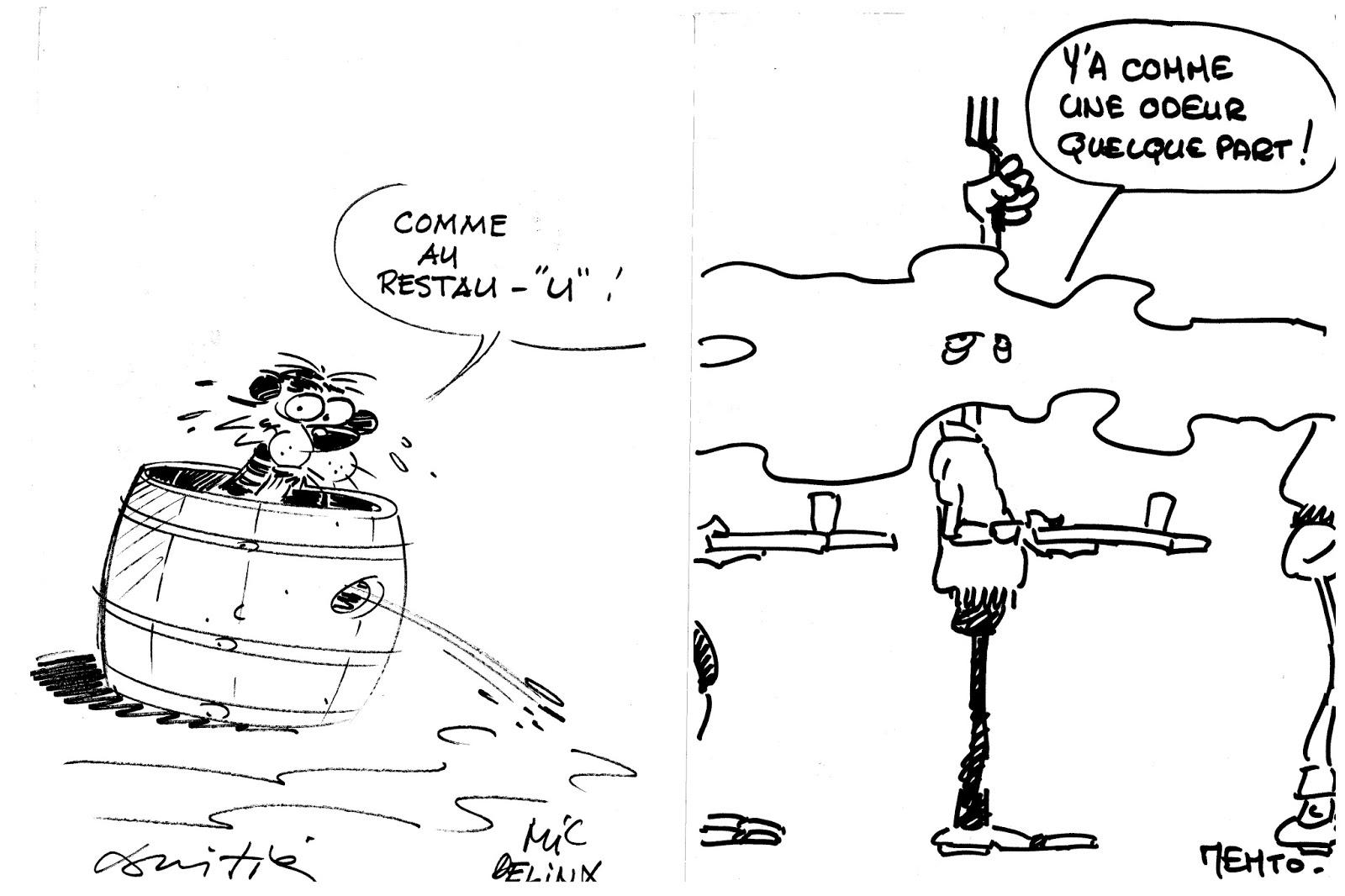 La DOCumentation NANTaise: Première série de dessins
