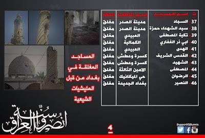 كلمتنا في الذكرى العاشرة لحرق مساجد بغداد
