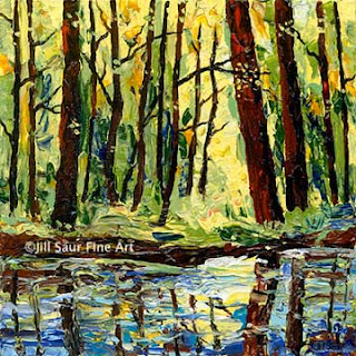 atlanta art galleries, tree art, modern art, artwork paintings