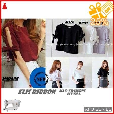 AFO031 Model Fashion Elis Ribbon Modis Murah BMGShop