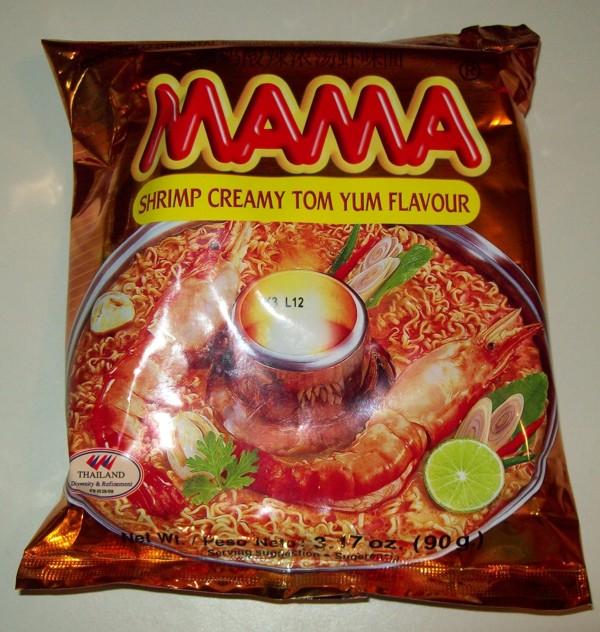 Ramen Butterfly: MAMA Oriental Style Instant Noodles ...