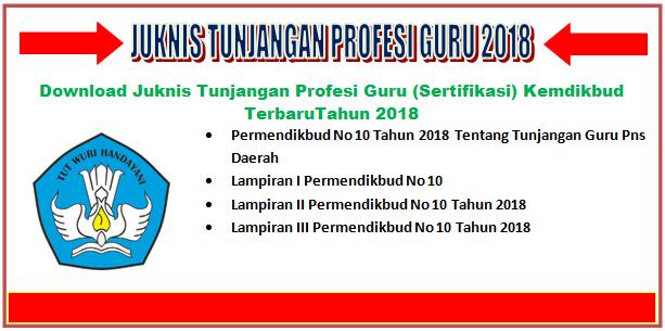 Juknis Tunjangan Profesi Guru