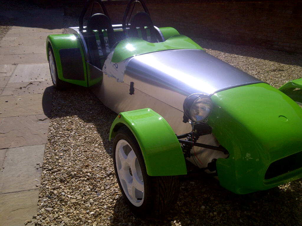 GBS customer John Spencer has kindly sent us over some more photographs of  his Zero build which is looking very impressive and is really coming along  now.