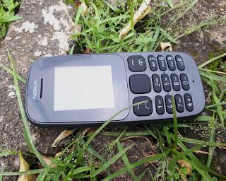 Hape Nokia 105 2017 Dual SIM Seken Mulus