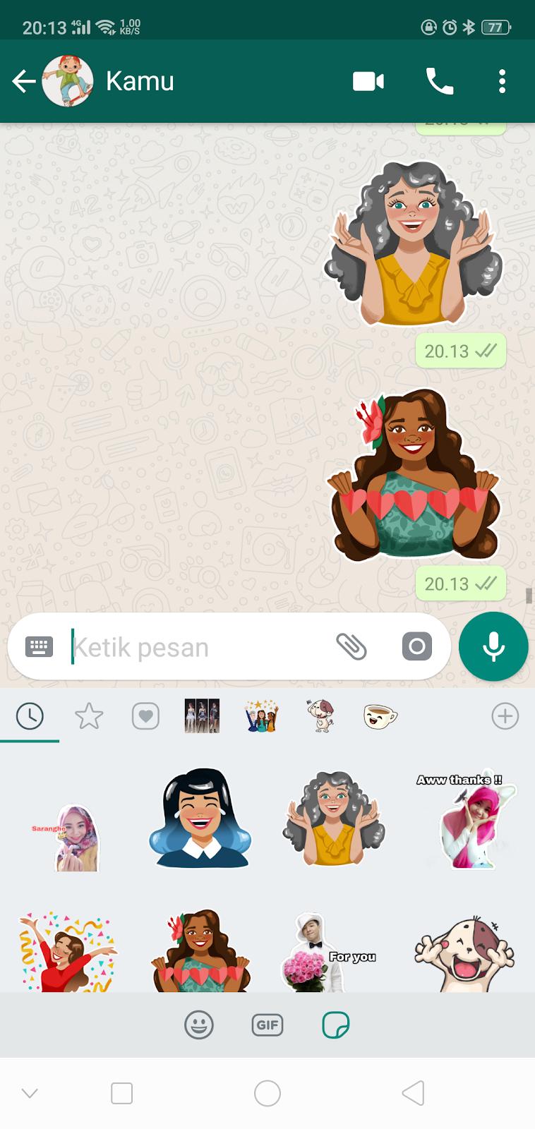 Cara Mudah Membuat Stiker Whatsapp Terbaru Komputer Kosan