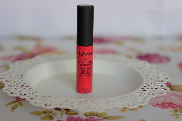 Soft Matte Lip Cream - Matowa pomadka w kremie NYX : RECENZJA