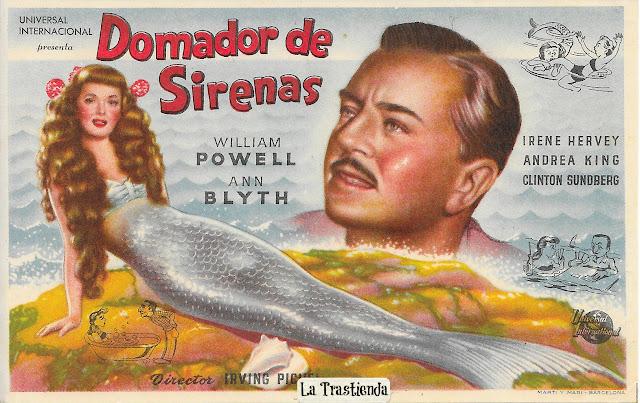 Programa de Cine - Domador de Sirenas