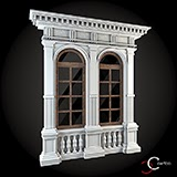 decor case exterior decorative profile exterior case win-052