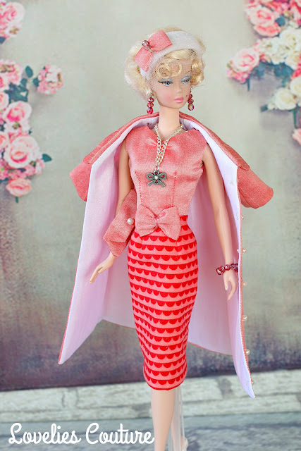 ooak silkstone vintage barbie fashion couture