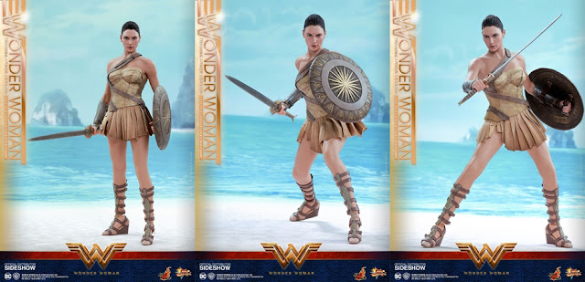 harga Hot Toys Wonder Woman Training Armor