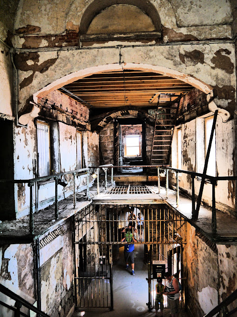 Eastern State Penitentiary hall view