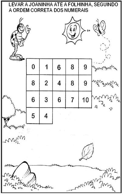 Atividades sobre Meio Ambiente - Leve a joaninha