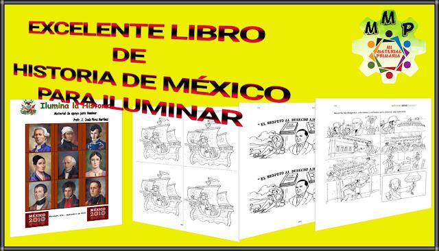 HISTORIA DE MÉXICO-LIBRO PARA ILUMINAR
