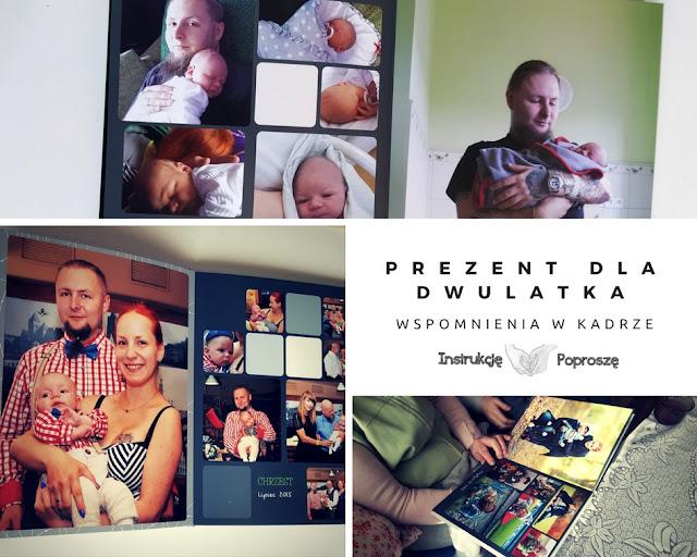 Fotoksiążka - PREZENT DLA DWULATKA