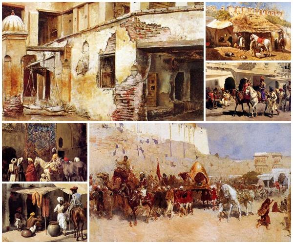 لوحات Orientalist للفنان Edwin Lord Weeks مجموعة الثالثة