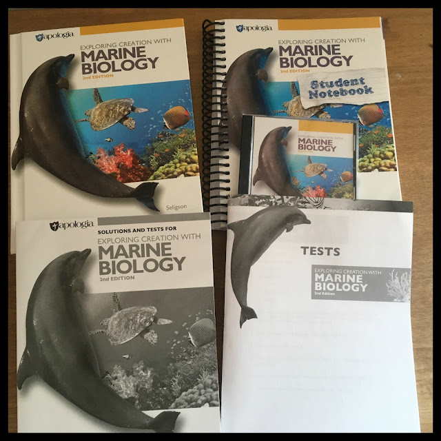 Review of Apologia Marine Biology 2nd Edition - An advanced high school science course.