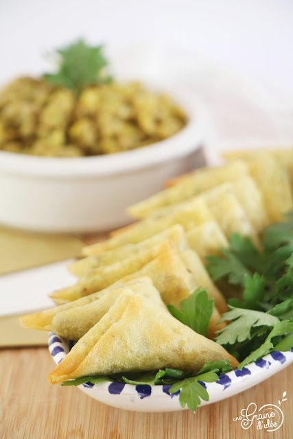 Samossas à la viande hachée épices rapide facile
