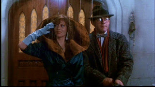 Lesley Ann Warren and Christopher Lloyd