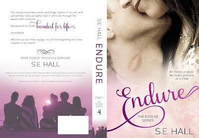Cover Reveal Endure by SE Hall