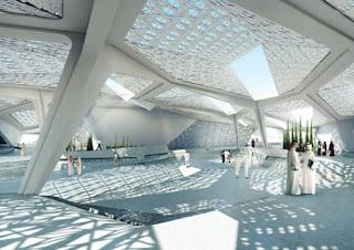 desain interior gedung KAPSARC
