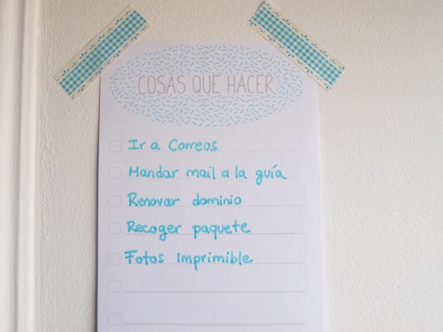 Milowcostblog imprimible lista de cosas que hacer for Cosas del hogar online