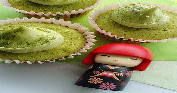 Green Tea Cupcake Recipe