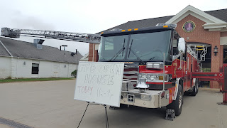 not everything was on Main St, the Fire Station had an open house