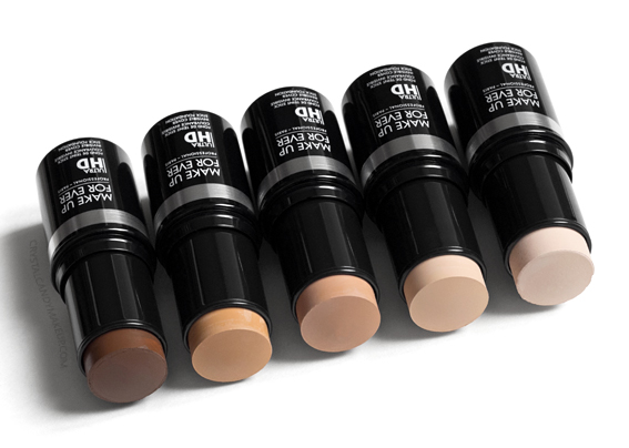 Make Up For Ever Ultra HD Stick Foundation New shades Y205 Y215 R330 Y375 R540 Review