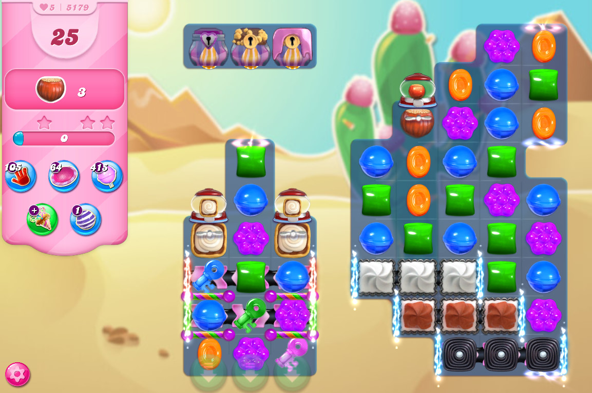 Candy Crush Saga level 5179