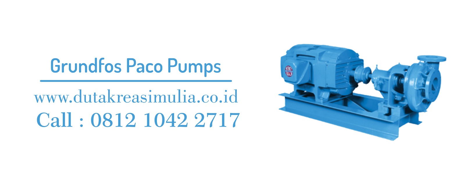 Distributor Pompa Industri Grundfos Paco Centrifugal Pumps ...