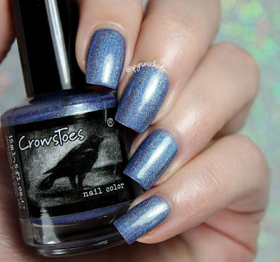 CrowsToes Nail Color Your Last Breath | Hella Holo Customs September 2016