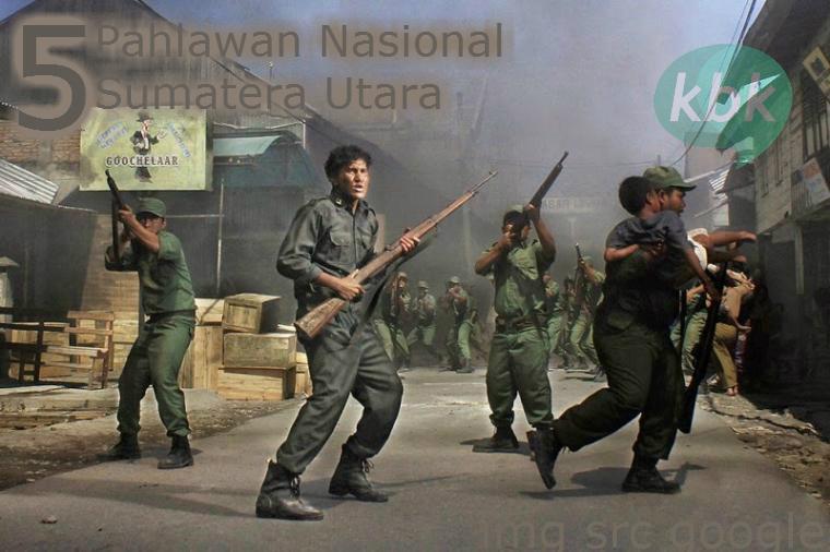hari pahlawan nasional kota medan sumatera utara