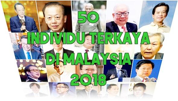 individu terkaya di malaysia 2018