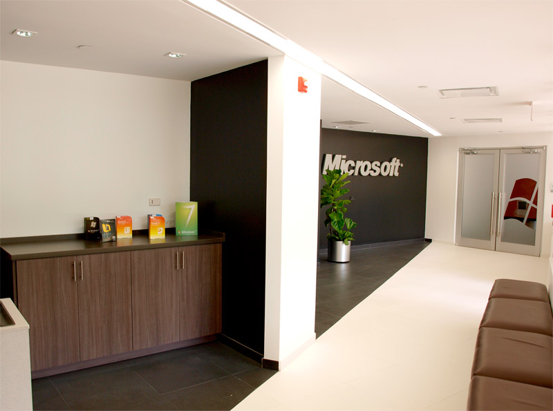 Microsoft invierte 2 5 millones en nuevas oficinas sin for Oficinas de microsoft